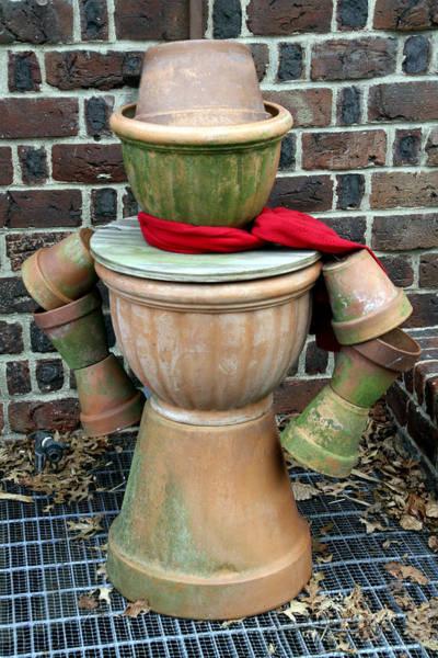 Photograph - Pottery Person by Bob Slitzan