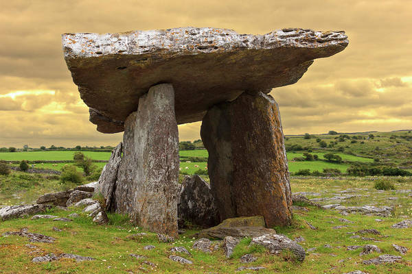 Clare Photograph - Poulnabrone Dolmen by Tom Norring