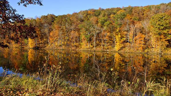 Photograph - Pounds Hollow Lake by Sandy Keeton