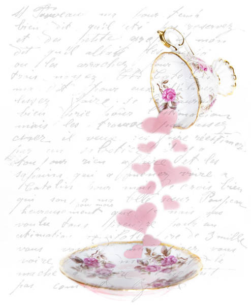 Wall Art - Photograph - Pouring My Heart Out by Rebecca Cozart