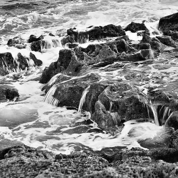 Photograph - Pouring Rocks by David Davies