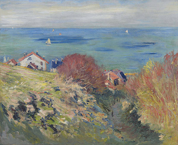 Wall Art - Painting - Pourville by Claude Monet