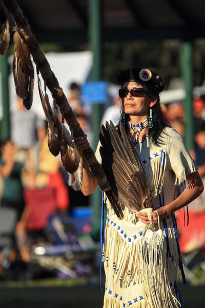 Drum Circle Wall Art - Photograph - Pow Wow 29 by Keith R Crowley