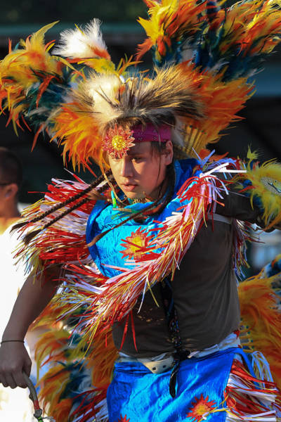 Drum Circle Wall Art - Photograph - Pow Wow 42 by Keith R Crowley