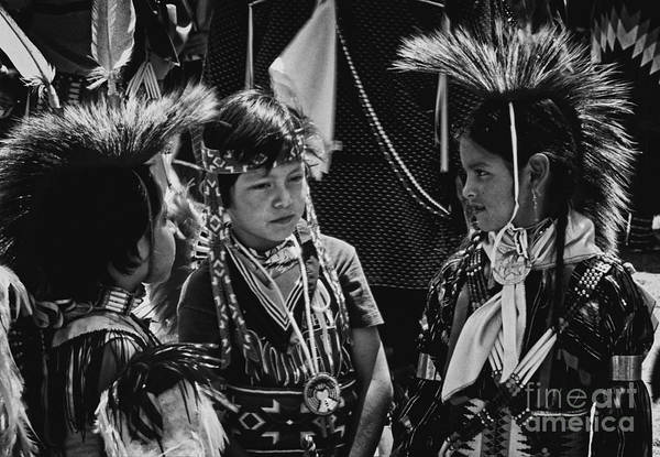 Photograph - Pow-wow Buddies by Paul W Faust -  Impressions of Light