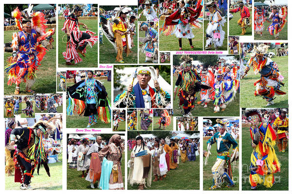 Photograph - Pow Wow Collage by Steven Spak