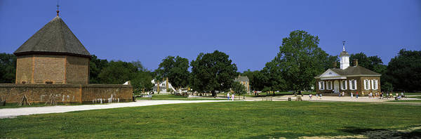Colonial Williamsburg Photograph - Powder Magazine And Courthouse by Panoramic Images