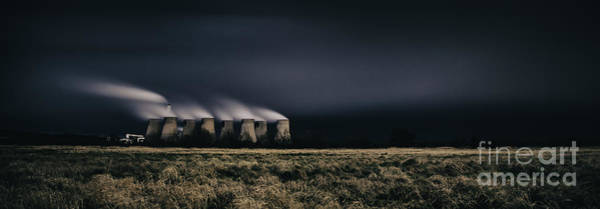 Power Station Wall Art - Photograph - Power And Light by Nigel Jones