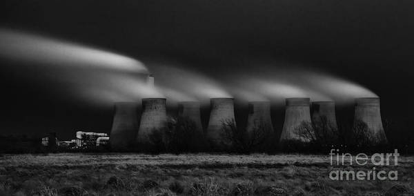 Power Station Wall Art - Photograph - Power Before The Storm by Nigel Jones