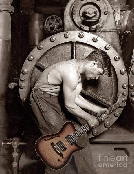 Photograph - Power Chord Mechanic by Martin Konopacki