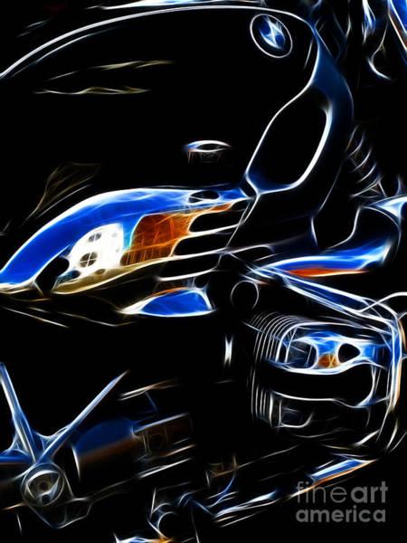 Exhaust Digital Art - Power Cruiser by Yvonne Johnstone
