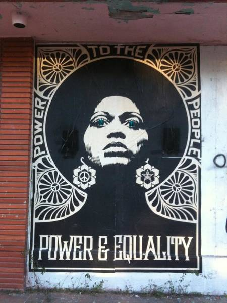 Peace Wall Art - Photograph - #power #equality by Natalie Paz
