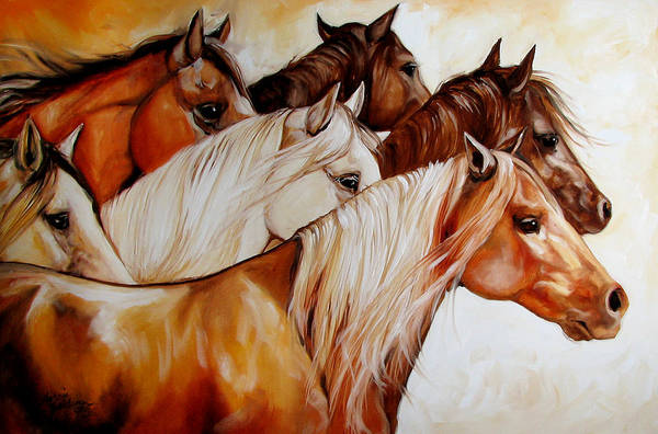 Wall Art - Painting - Power Of Six by Marcia Baldwin