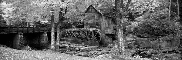 Babcock Photograph - Power Station In A Forest, Glade Creek by Panoramic Images