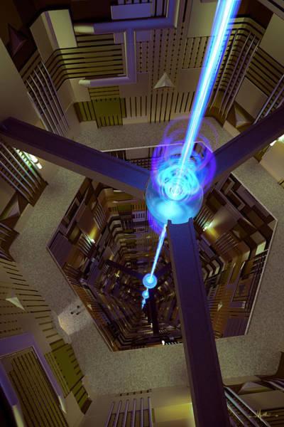 Digital Art - Power Station by Matt Lindley