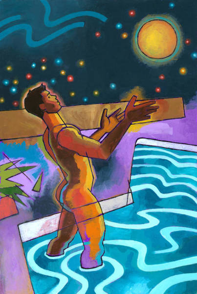 Allegory Wall Art - Painting - Power Surge by Douglas Simonson