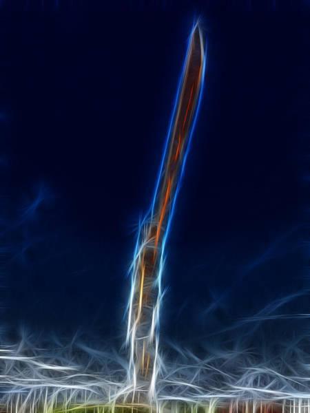 Newcastle Digital Art - Power Surge by Steven Wilkinson