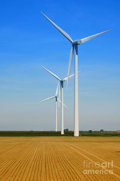 Photograph - Power Windmills by Nick  Biemans