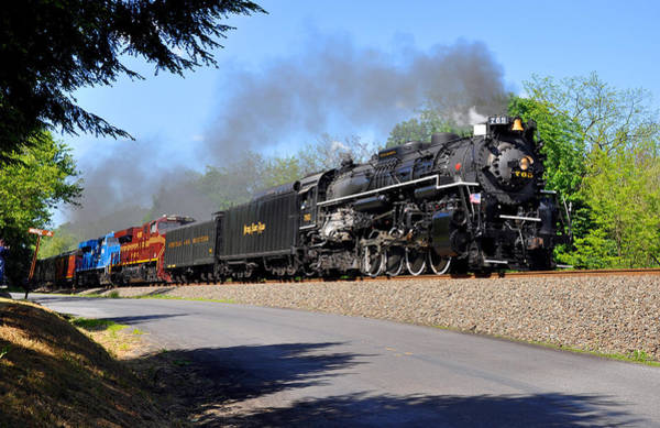 Photograph - Powerful Nickel Plate Berkshire by Matthew Chapman