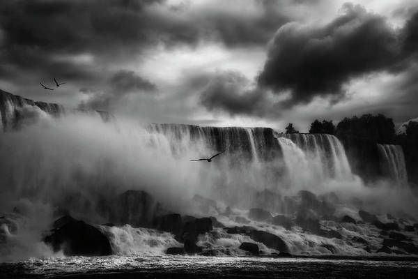 Water Fall Photograph - Powerful Splendor by Yvette Depaepe