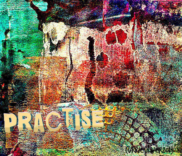 Wall Art - Digital Art - Practise by Currie Silver