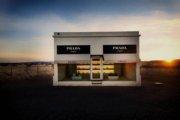 Storefront Photograph - Prada Marfa by Mountain Dreams