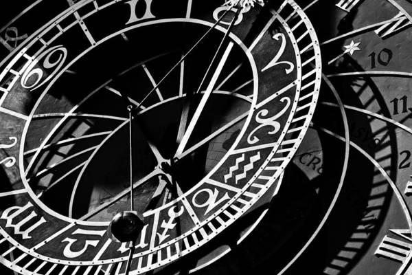 Photograph - Prague Astronomical Clock by John Magyar Photography