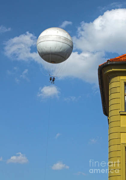 Photograph - Prague Baloon Ride by Gregory Dyer