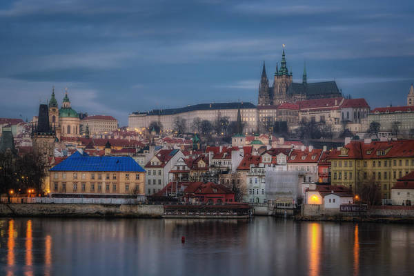 Praha Wall Art - Photograph - Prague Castle Dawn by Joan Carroll
