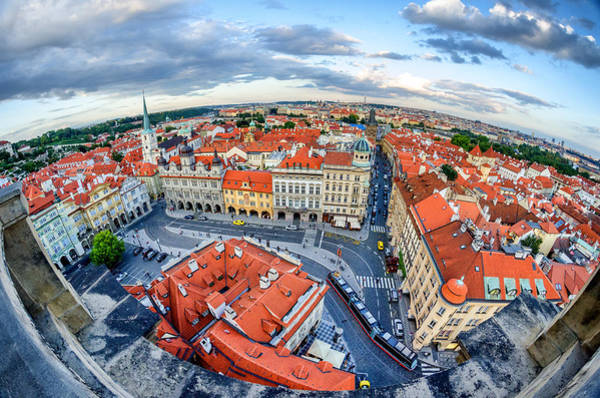 Wall Art - Photograph - Prague From Above by Pablo Lopez