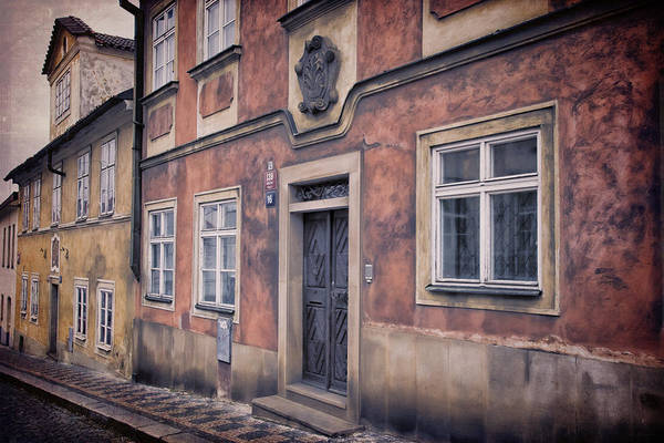 Photograph - Prague Houses by Joan Carroll