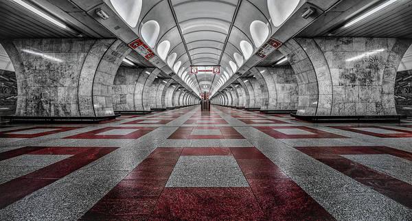 Metro Photograph - Prague Metro by Massimo Cuomo