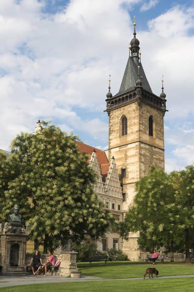 Photograph - Prague New Town Hall by Matthias Hauser
