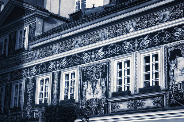 Photograph - Prague Sgraffito by Joan Carroll