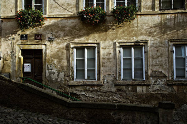 Photograph - Prague Textures by Joan Carroll