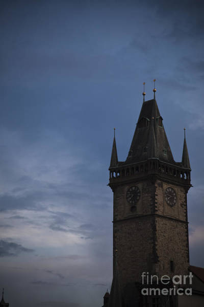 Photograph - Prague Tower by Maria Heyens