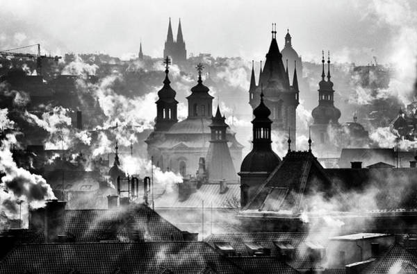 Wall Art - Photograph - Prague Towers' by Martin Froyda