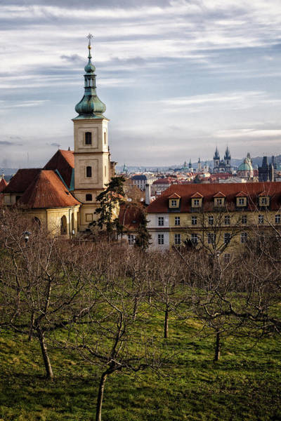 Praha Wall Art - Photograph - Prague View From The Gardens by Joan Carroll