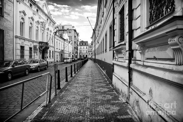 Wall Art - Photograph - Praha Sidewalk  by John Rizzuto