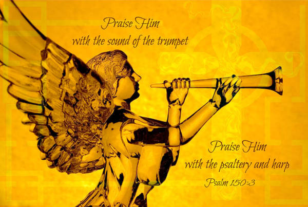 Photograph - Praise Him With The Trumpet Psalm by Denise Beverly