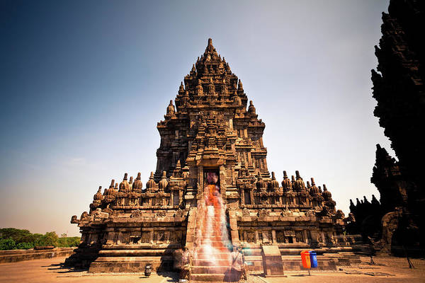 Indonesian Culture Photograph - Prambanan Hindu Temple In Java by Zodebala