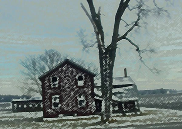 Painting - Prarie Home by Dennis Buckman