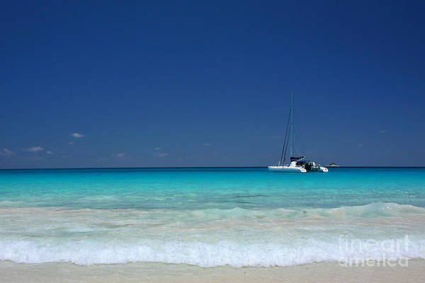 Photograph - Praslin Island Catamaran by Kate McKenna