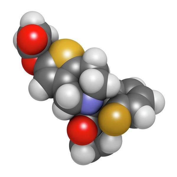 Pharma Wall Art - Photograph - Prasugrel Platelet Inhibitor Drug by Molekuul