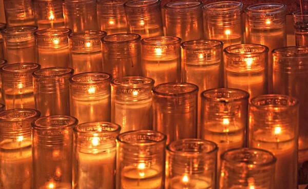 Photograph - Prayer Candles by Sharon Popek