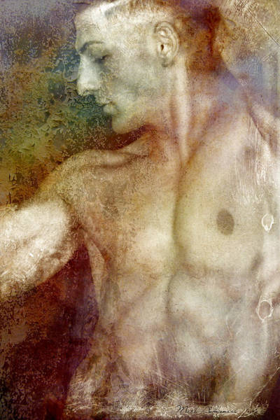 Bodybuilder Painting - Angelical by Mark Ashkenazi