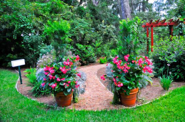Photograph - Prayer Garden Entrance by Ginger Wakem