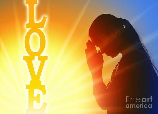 Divine Love Wall Art - Photograph - Prayer Of Love by Tim Gainey