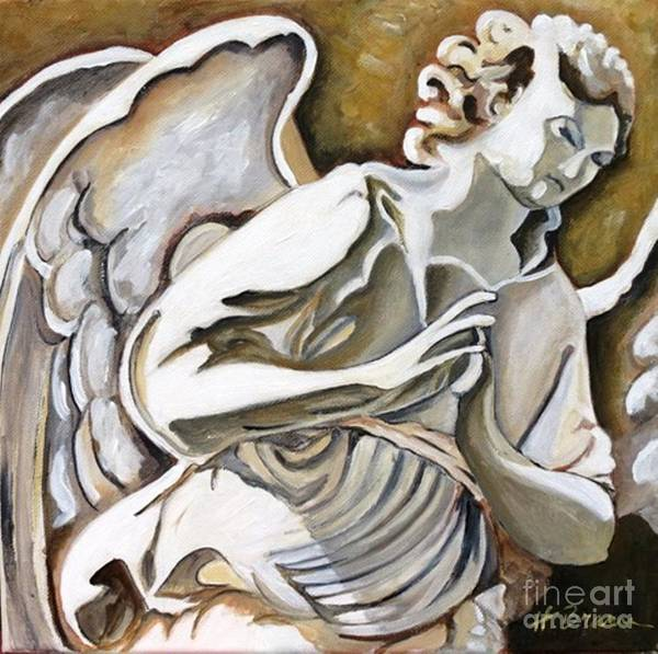 Holly Brannan Wall Art - Painting - Angel Of Hope by Holly Bartlett Brannan