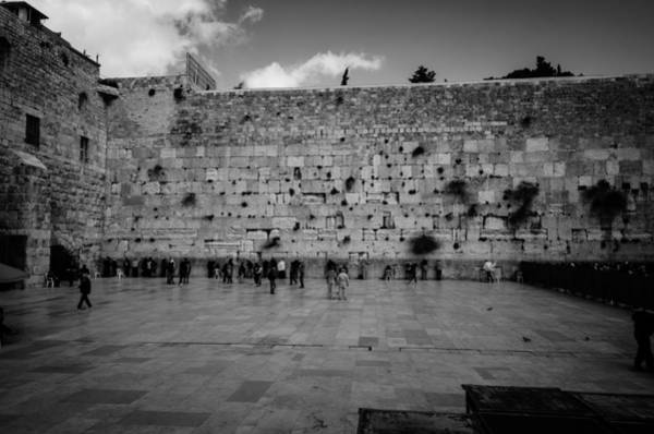 Wall Art - Photograph - Praying At The Western Wall by David Morefield